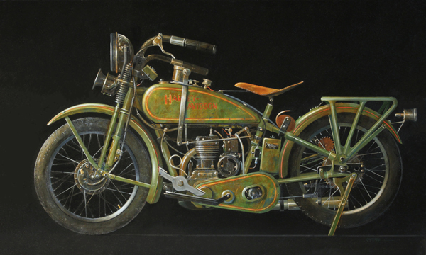 1928 Harley-Davidson Model B-Single